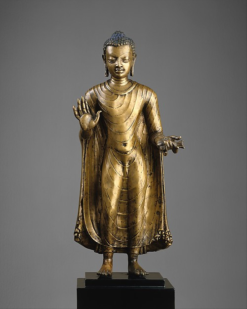 Buda. India. Siglo VI. Periodo Gupta. MetMuseum