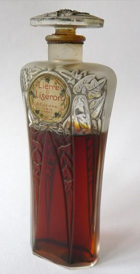 Antigua botella de perfume Lierre Liseron