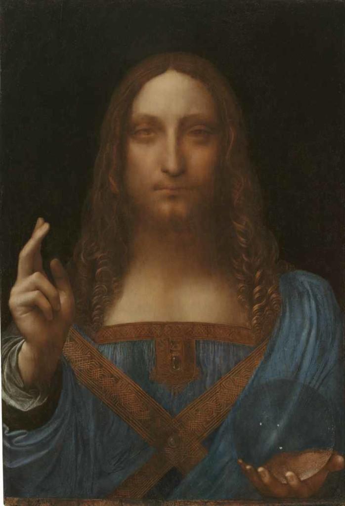 salvator mundi Leonardo da Vinci