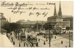 Dresden. Postal fotográfica
