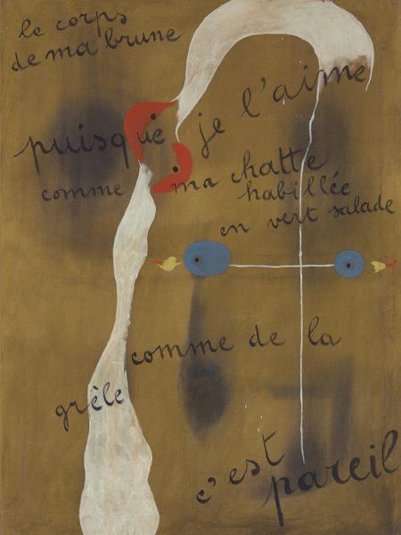 Joan Miró. Poema Pintado.