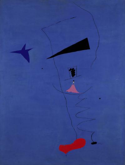 Joan Miro. Etoile Bleue
