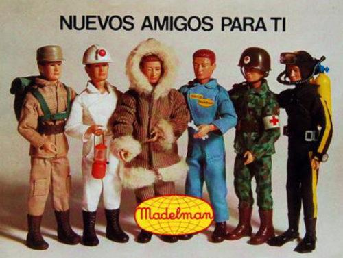 Madelman anuncio